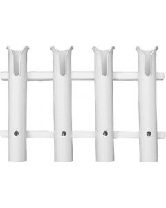 Taco Marine Rod Rack, 4-Rod, White