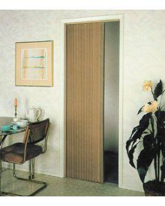 Irvine Shade & Door Pleated Folding Door Beige 8Lb - Pleated Folding Doors