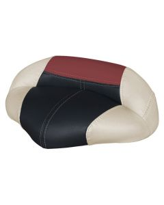 Wise Blast-Off Tour Series Pro Casting Seat Traditional Style, Mushroom-Black-Red