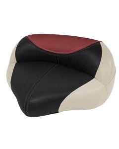 Wise Blast-Off Tour Series Pro Casting Seat Oversize Frame, Mushroom-Black-Red