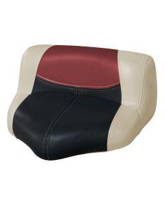 Wise Blast-Off Tour Series Pro Casting Seat Pro-Lean Design, Mushroom-Black-Red