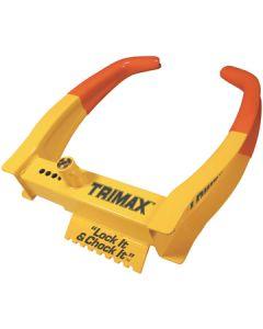Trimax Locks Trimax Wheel Chock Lock - Deluxe Universal Wheel Chock Lock