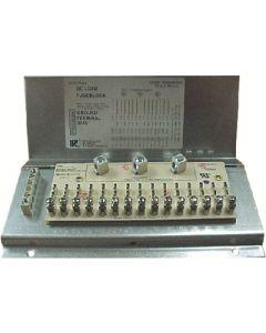 Parallax Power Supply Encl. Fuse Block 15 Position - Enclosed Fuse Block
