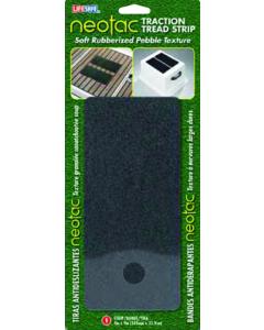 "Incom NeoTac Tread Strip, 4"" x 9"", 1-Pack, Black"