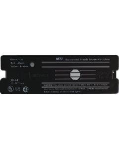 Alarm-12V Surface Mnt Lp Black - Lp Gas Alarm With Hook & Loop Mount