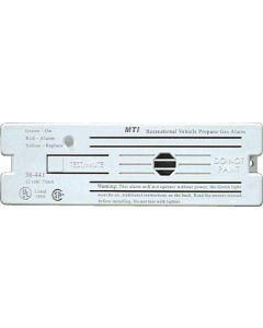 Alarm-12V Surface Mnt Lp White - Lp Gas Alarm With Hook & Loop Mount