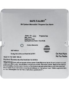 Alarm-12V Flush Mnt Lp-Co Blk - 45 Series - Dual Carbon Monoxide / Propane Alarm