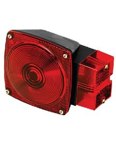 Wesbar Combination 7-Function, Right/Curbside Tail Light - Cequent Trailer Products
