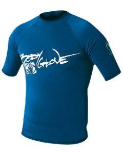 Body Glove Juniors Basic Short Sleeve Shirt, Royal Blue, Size 16