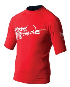 Body Glove Juniors Basic Short Sleeve Shirt, Red, Size 4