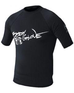 Body Glove Juniors Basic Short Sleeve Shirt, Black, Size 8