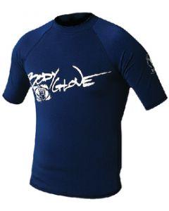 Body Glove Mens Basic Short Sleeve Shirt, Navy, X Small