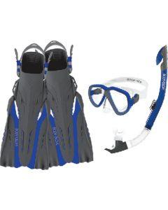 Body Glove Vests Azores Mask Snork&Fin Blu L/Xl