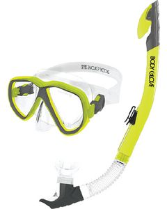 Body Glove Vests Azores Mask Snork&Fin Yel L/Xl