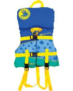 Body Glove Vests Pfd Infant Vision Blue