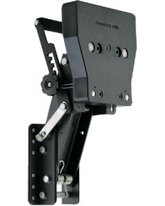 """Garelick Aluminum Auxiliary Motor Bracket for up to 169 lbs 4-Stroke Motors 7-1/2 to 30hp, 9-1/2"""" Travel"""