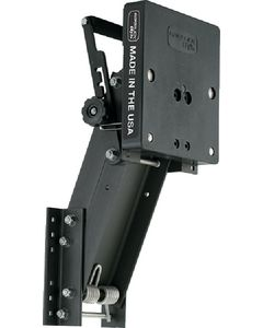 """Garelick Aluminum Auxiliary Motor Bracket for up to 175 lbs 4-Stroke Motors 7-1/2 to 25hp, 15-1/2"""" Travel"""