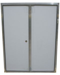 Dbl.Door Pol.Wht.52.5X68 W/O - Series 5100Dd Outswing Double Door