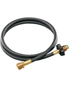Propane Adapter W/5Ft Hose - High-Pressure Propane Hose And Adaptor