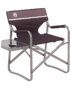 Chair Deck Alum W/Side Table - Aluminum Deck Chair With Swivel Table