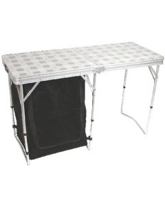 Table Folding With Storage - Store More&Trade; Cupboard Table