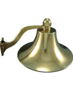"Marpac 8"" Polished Brass Bell"
