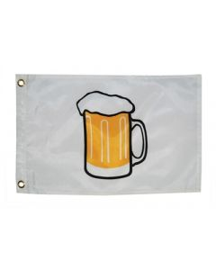 Taylor Made FLAG,12X18 BEER ABOARD