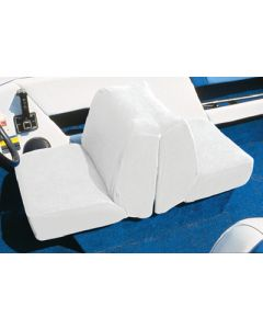 Taylor Made Terry Cloth Lounge Boat Seat Cover White