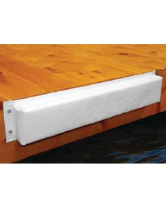"Taylor Made 344 Hull Saver Vinyl Covered 24"" Straight Dock Bumper"