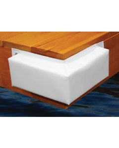 "Taylor Made 345 Hull Saver Vinyl Covered 10"" Dock Corner"