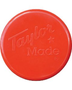 """Taylor Made 3 Blade Cover, 10"""" Diameter, Red"""