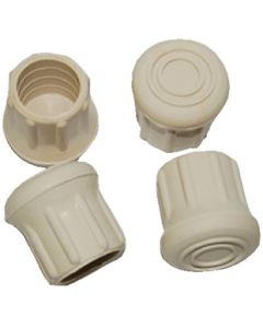 "Taylor Made Rubber Chair Tips, Fits 1"" Tubing"