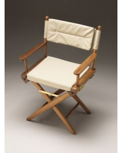 Whitecap Director's chair with Natural seat covers