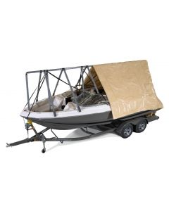 Navigloo Boat Shelter With Tarp for 19 ft. - 22 ft 6 in. Runabout and Pontoon Boats