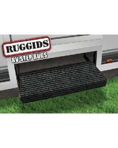 Prest-O-Fit Rugged Step Rug Black - Ruggids Rv Step Rug
