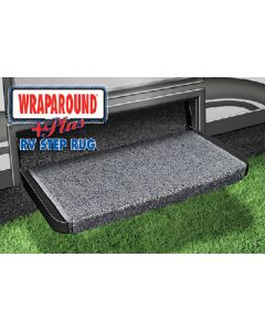 Prest-O-Fit Wraparound Plus Black - Wraparound Step Rugs