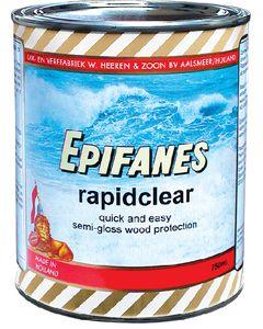 Epifanes Rapidclear Semi Gloss Wood Finish