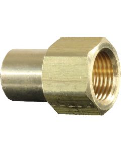 3/8 Fem Flare To 1/4 Mpt Conn - Female Flare To Mpt Connector