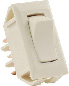 Standrd 12V On/On Switch Ivory - Standard 12V On/On Switch