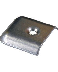 JR Products Vinyl End Caps Metal Aluminum - Metal Vinyl End Cap