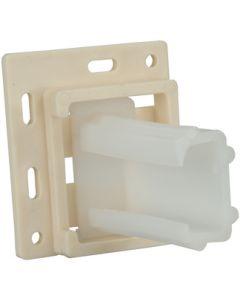 """JR Products Drawer-Sl Socket Set Sm Incin - Drawer Slide Socket Set """"C"""" Shape"""