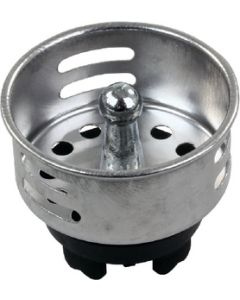 JR Products Plstc Strainer Basket W/ Prong - Push-In Basket