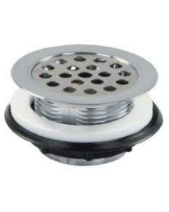 JR Products Strainer Shower Grid White - Strainer W/Grid