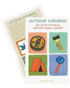 Rome Industries Outdoor Explorers Act.Book - Outdoor Explorers Activity Book