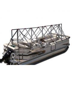 Navigloo Boat Shelter for 23 ft. - 24 ft. Pontoon Boats (Does Not Cover Motor)