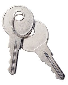 RV Designer Replacement Keys New Style - Cable Hatch Replacement Parts