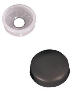 RV Designer Screw Cover-Blk. (Pack Of 14) - Screw Covers