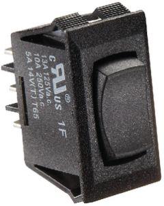 RV Designer Switch-Rockr 10A On-Off-On Blk - Dc Rocker Switch