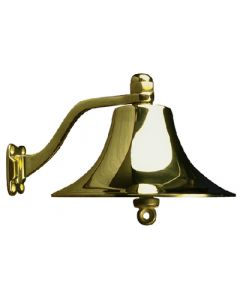 "Seadog Ship's Bell 8"" Polished Brass"