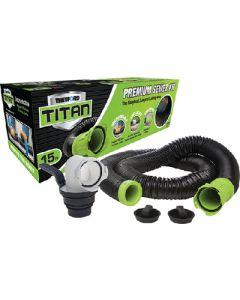 Titan Premium Sewer Kit 15Ft - Titan&Trade; Premium Rv Sewer Kit System